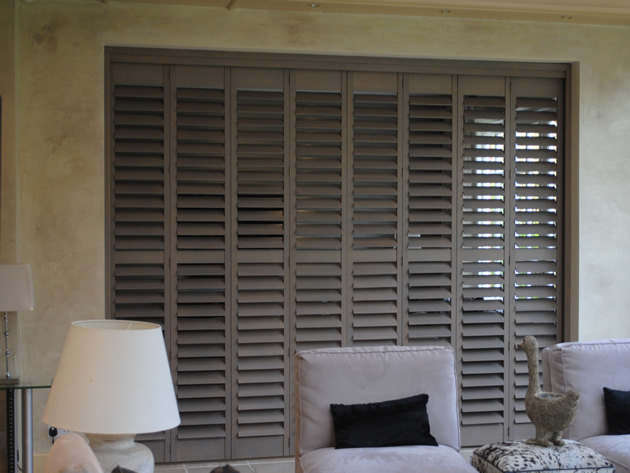 Room Divider Track System Shutters in Dulwich South London